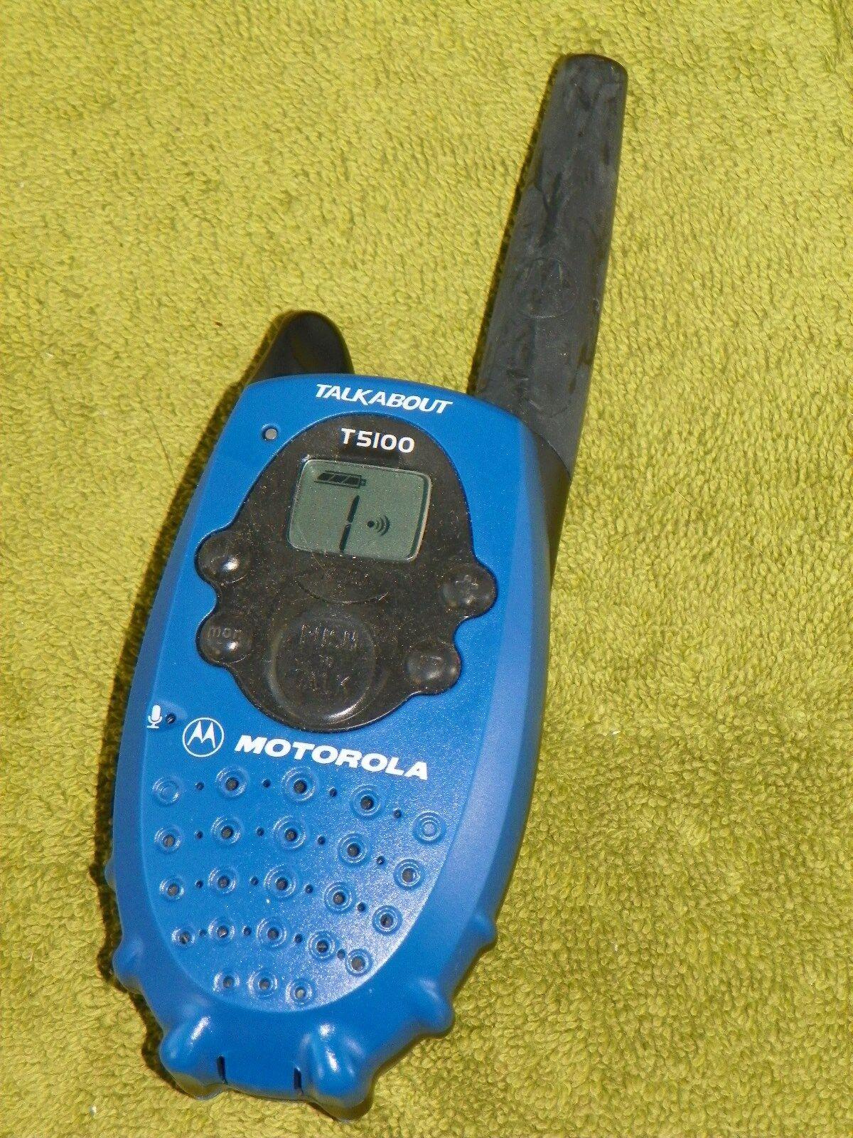 motorola talkabout t5100 two way radio ebay rh ebay com motorola t5100 manual usuario motorola talkabout t5100 manual pdf