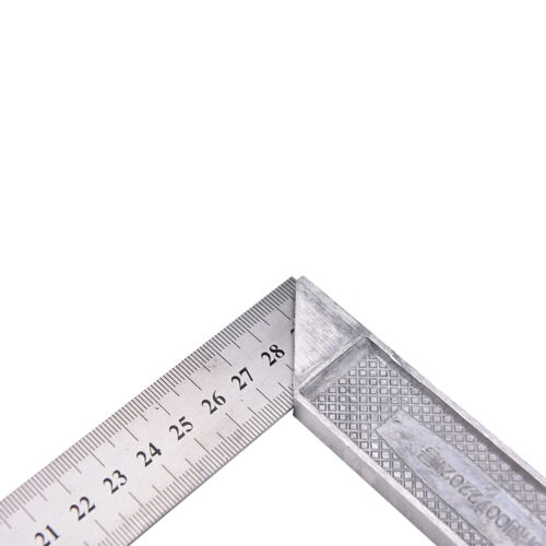 Best 30cm Stainless Steel Right Measuring Angle Square Ruler ^^