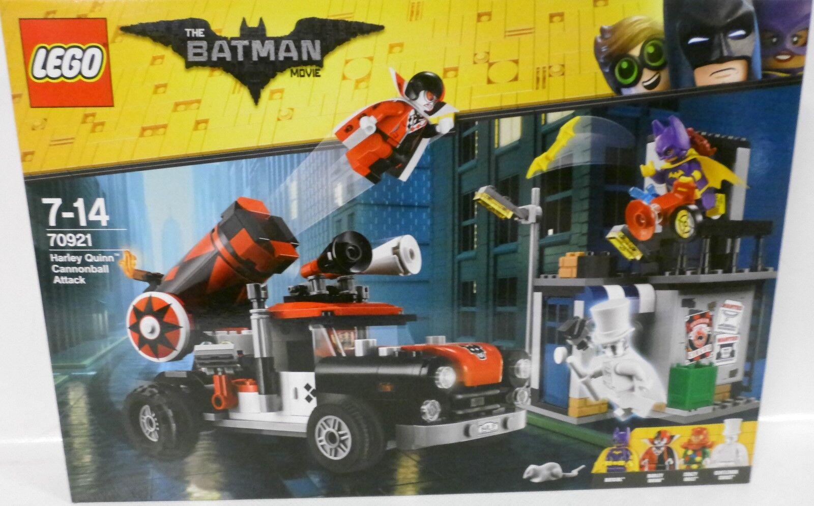 NEUF  LEGO ® 70921 THE BAThomme MOVIE  Harley Quinn boulet de canon ATTAQUE  Neuf dans sa boîte   en stock