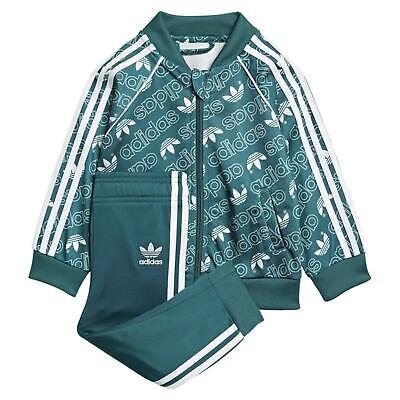 Adidas Originaux Bébés Superstar Monogramme Survêtement Enfants Trèfle Jeux | eBay