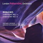 Brahms: Symphonies 3 & 4 (CD, Feb-2014, LPO)