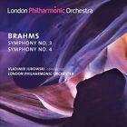 Brahms: Symphonies 3 & 4 (CD, Feb-2014, LPO)