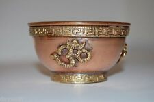 "OM copper/brass altar bowl 3"" - Wicca, Pagan"