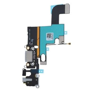 Details about USB Charging Port Dock Flex Cable For iPhone 6 Grey Cell  Phones Replacement gl