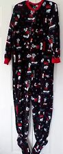 Classic Disney Magic Dream Mickey Mouse Footed Pajamas NEW S M or L LAST ONES