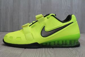 san francisco a1bf3 05bab Image is loading 28-New-Nike-Romaleos-2-Weightlifting-Shoes-Volt-