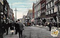 POSTCARD  LANCASHIRE   MANCHESTER   Oldham  Street