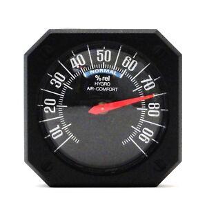 Historisches-Auto-KFZ-Bimetall-Hygrometer-RICHTER-HR-Art-7289-selbstklebend