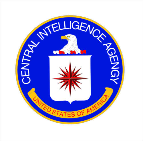 Central Intelligence Agency CIA Seal Sticker Decal clandestine Car Bumper Decor