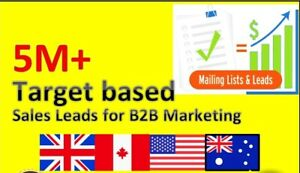 Details about Targeted email lists Buy email lists by categories usa uk  canada australia lists