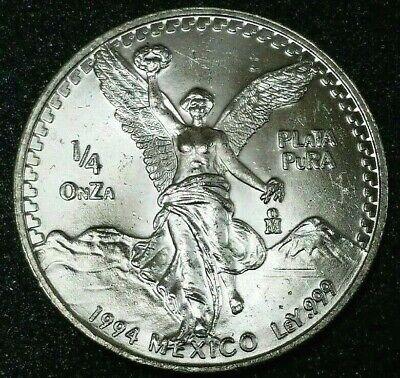 ozt .999 Fine Silver Beautiful 1984 Mexico Silver Libertad 1 ONZA