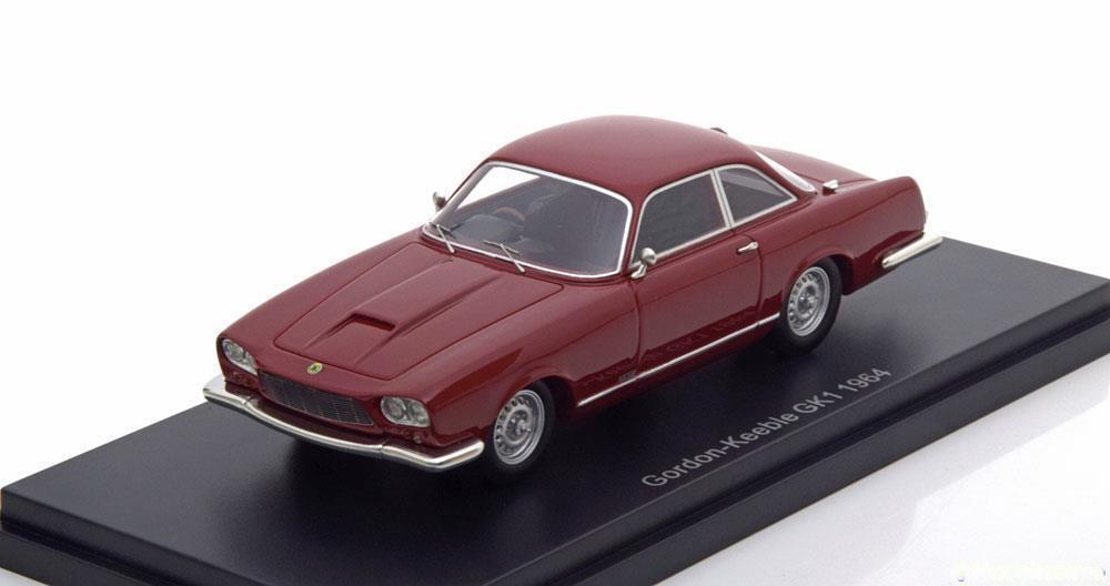 Bos Modelli  GORDON Keeble GK1 in Rosso Scuro 1964