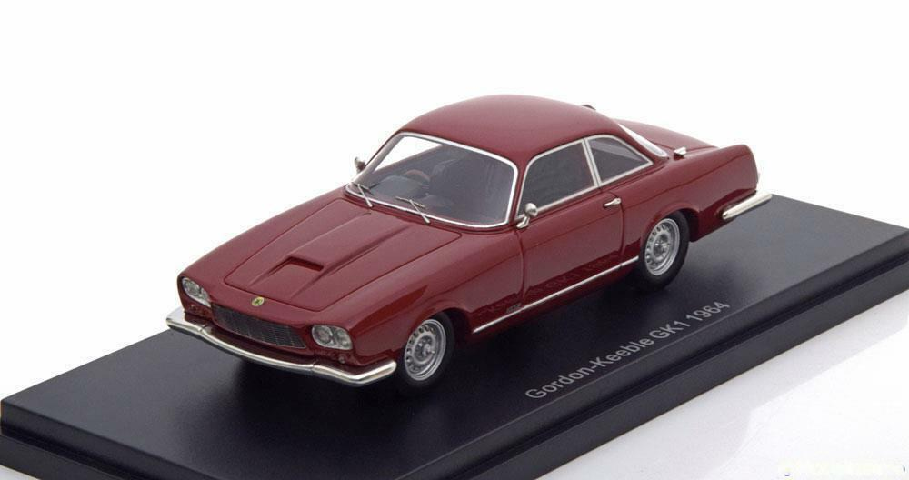 Bos Models 1 43 GORDON KEEBLE GK1 en Rouge Foncé 1964