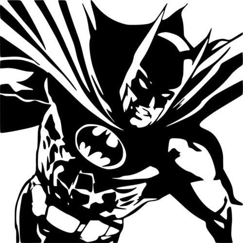 Batman DC Comics Dark Knight Superhero Wall Car Truck Window Vinyl Sticker Decal