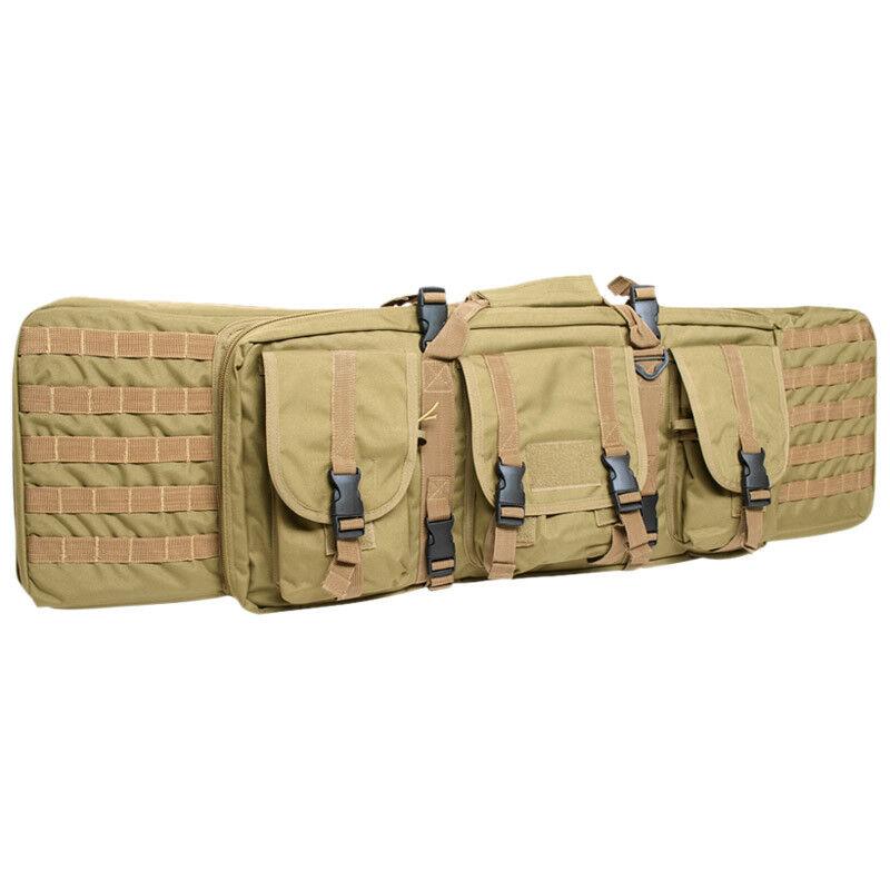 Grande Fucile Case Tattico Imbottito Gun Bag Bag Bag Molle Airsoft Caccia Coyote a91956