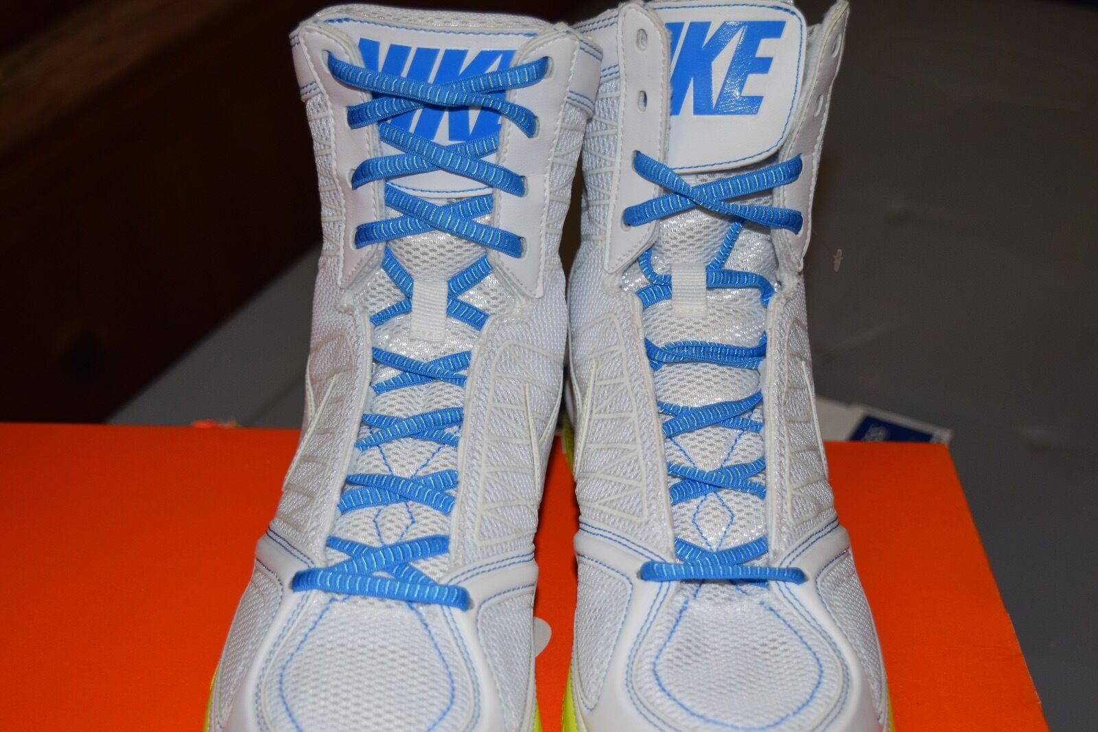 femmes Nike Zoom Bold Sz Sister MD Chaussures blanc vert Bleu Sz Bold 6 or 7.5 45749f