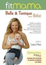 41048 /FITMAMA BELLE & TONIQUE AVEC BEBE LEISA HART DVD NEUF