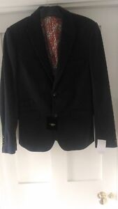 Holland Esquire Reginald Navy Bnwt Piquet Jacket rr4xZqfwT