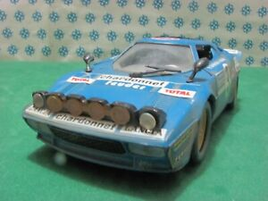 Vintage-LANCIA-STRATOS-Chardonnet-1-25-Polistil-S71-Made-in-Italy-1979