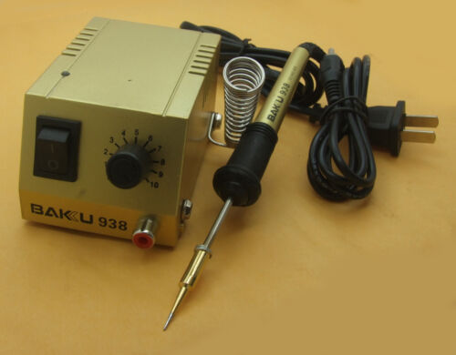 RCA plug Mini 110V SOLDERING IRON STATION for ICs SMD SMT DIP IC Soldering work