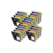 20 Druckerpatronen XXL für Brother DCP-185C DCP-J715W MFC-490CN MFC-490CW LC1100
