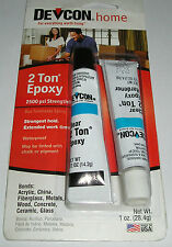Devcon 2 Ton Epoxy 1oz 28.4g Clear 30 Minutes Glue 2500 PSI Waterproof Adhesive