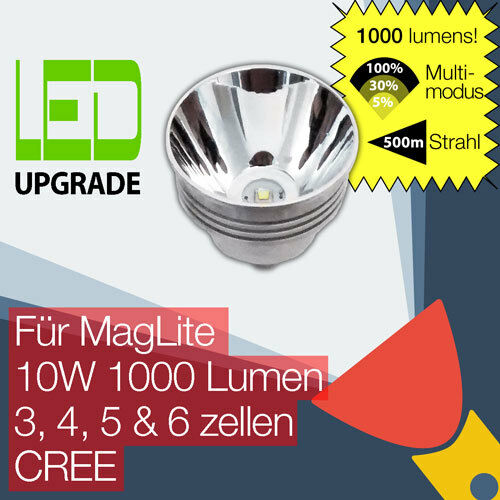 MagLite LED Upgrade Ersatz lampe 1000LM Taschenlampen Taschenlampen Taschenlampen 3D 4D 5D 6D zellen CREE bd5a09