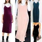 Sexy Women Summer Sleeveless Halter Casual Holiday Slip Madi Evening Party Dress