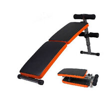 New Adjustable Foldable Sit Up Abdominal Bench Press Weight Gym Ab Exercise
