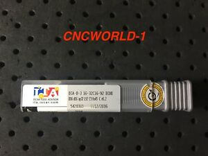 ECA-B-3 12-25C12-83 IC08 1 Pcs Iscar VHM Schaftfräser Fräser ISCAR ø12mm Z=3