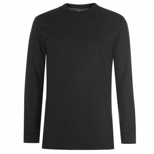 Gelert Mens Sueded Crew Sweater Jumper Pullover Long Sleeve Warm Elasticated