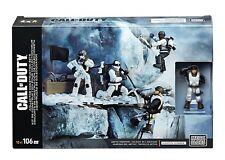 Mega Construx Call of Duty Arctic Troopers 106 Pcs Construction Set DPB53