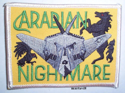 Patch Air Force `F-117 STEALTH`  Aircraft Cloth Badge US F-117-1