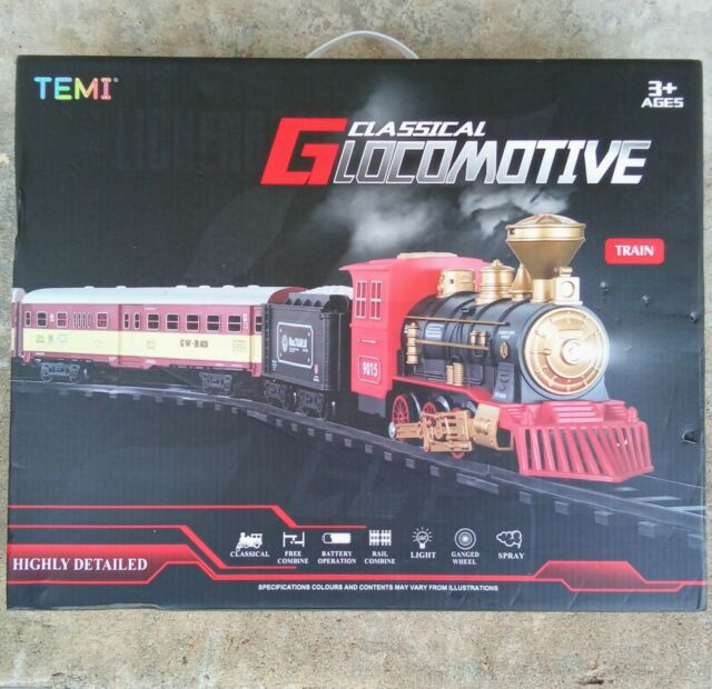 Temi G1 Classical G Locomotive - Train Set - Batteries Included
