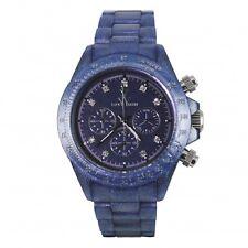 ToyWatch Pearlized Purple Chrono Plasteramic Women's Watch FLP18IN