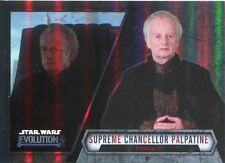 Star Wars Evolution 2016 Base Card #47 Chancellor Palpatine - Chancellor