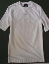 ADIDAS TECHFIT Compression White T-Shirt Top Short Sleeve Men's Size XL NEW