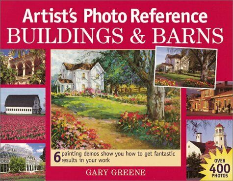 Artists Photo Reference: Buildings & Barns (Artists Photo Reference Series)