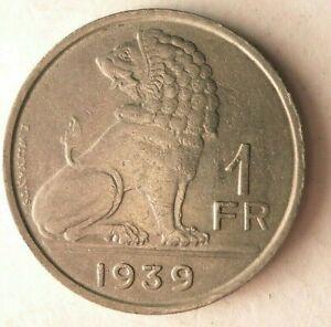 Canada Nickel Bin 1939 CANADA 5 CENTS Excellent Collectible FREE SHIP