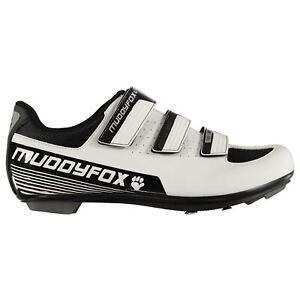 Muddyfox-Mens-RBS100-Cycling-Shoes-Road-Breathable-Mesh-Panels-Hook-and-Loop