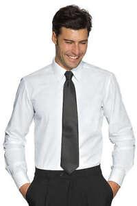 Camicia-Bianca-Uomo-Elasticizzata-Sciancrata-Slim-Fit-Aderente-linea-stretch-NEW