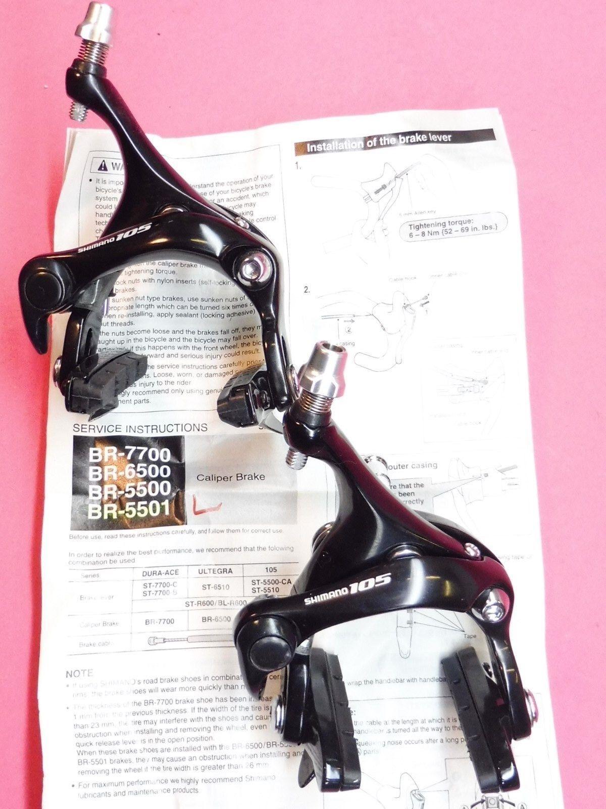 Shimano Br 5501 49 Pinzas de Freno   schwarz - Bicicleta Nos