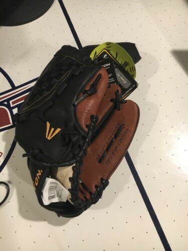 """NWT Easton RHT Rival RVFP1250 12.5"""" Fastpitch Softball Glove Right Handed Throw"""