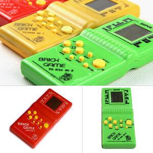 1 Piezas Clasico Ladrillo Juego Tetris Electronico Lcd Bolsillo