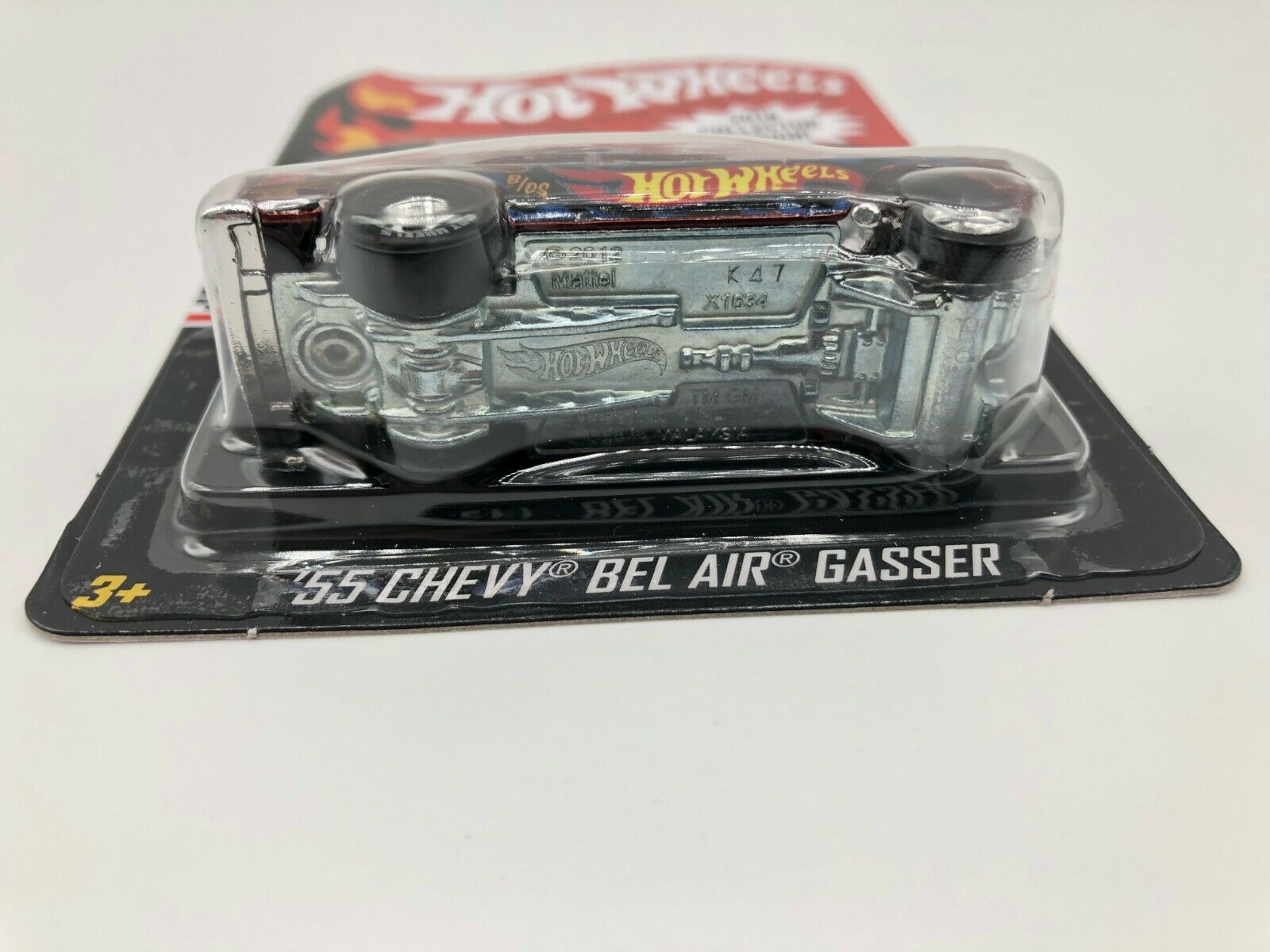 Hot Wheels 2018 Collectors Edition 55 55 55 Chevy Bel Air Gasser NIBP 5610af