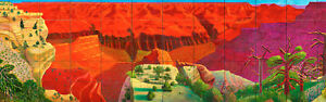 DAVID-HOCKNEY-OFFSET-HANDSIGNIERT-GRAND-CANYON-POP-ART-46-x-137-cm