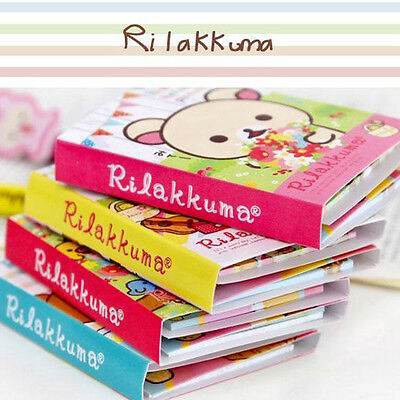 Rilakkuma Sticker Paste Marker Memo Flag Index Tab Sticky Notes 1 pcs