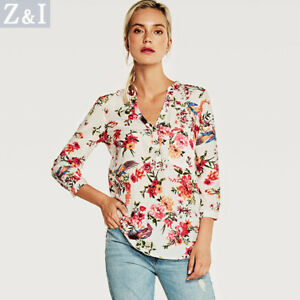Blouse-shirt-jersey-sleeves-white-red-rose-soft-elegant-4597