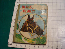 vintage book: BLACK BEAUTY young folks' edition, M A Donohue & co.