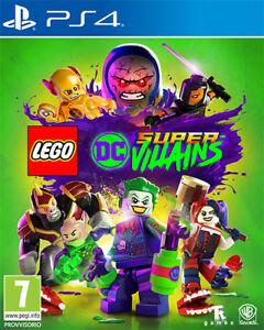 Lego Dc Super Villains PS4 PLAYSTATION 4 Warner Bros
